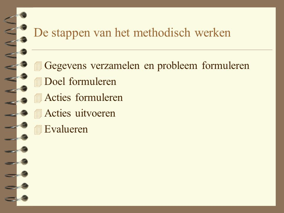 Actueel probleem Potentieel probleem 4P4E4S4P4E4S 4 P 4 E 4 of bij een potentieel probleem wat regelmatig optreedt: 4 P 4 E 4 S