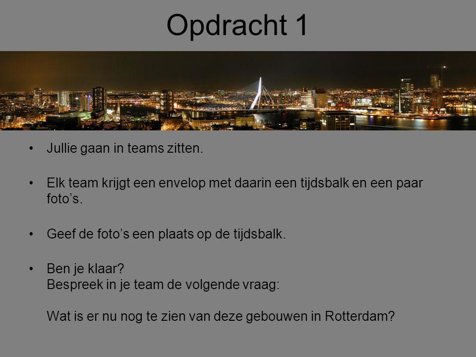 De Haven van Rotterdam •Door het herstel van de havens, worden er plannen gemaakt het havengebed los te koppelen van de stad.