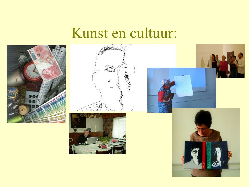 Kunst en cultuur: