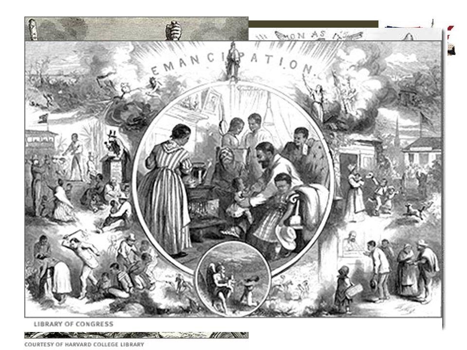 De periode 1865-1918 2.3 Vrij, maar achtergesteld Reconstructie in cartoons