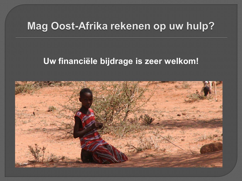 Uw financiële bijdrage is zeer welkom!