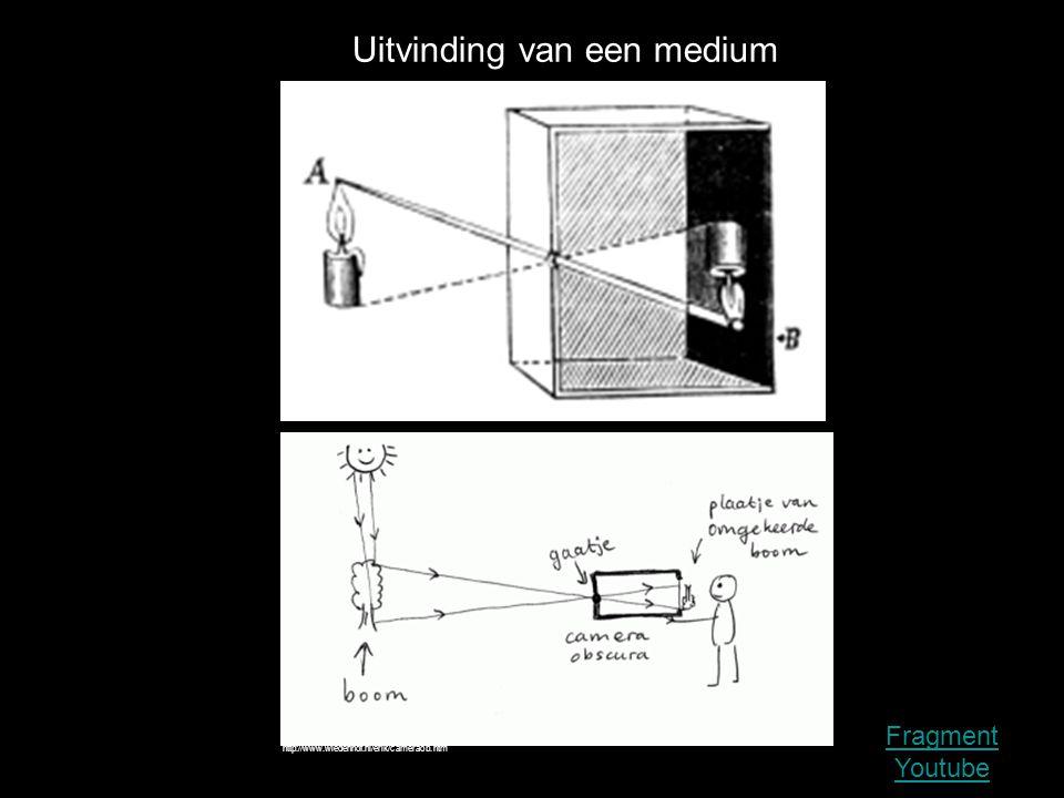 http://www.wiedenhof.nl/erik/cameraob.htm Uitvinding van een medium Fragment Youtube