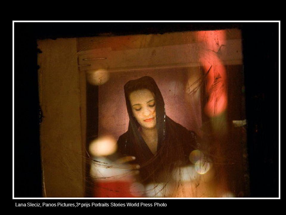 Lana Sleciz, Panos Pictures,3 e prijs Portraits Stories World Press Photo