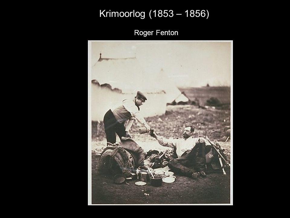 Krimoorlog (1853 – 1856) Roger Fenton