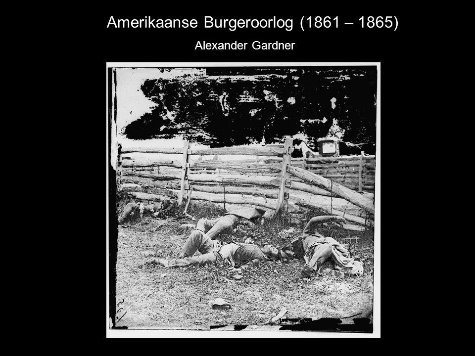 Amerikaanse Burgeroorlog (1861 – 1865) Alexander Gardner