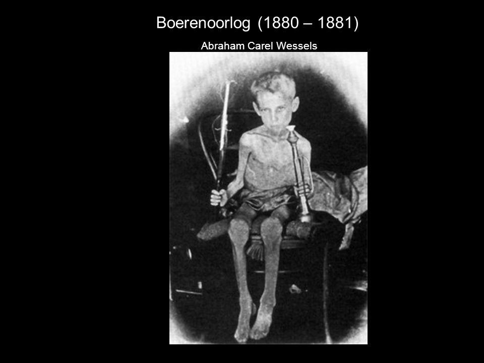 Boerenoorlog (1880 – 1881) Abraham Carel Wessels