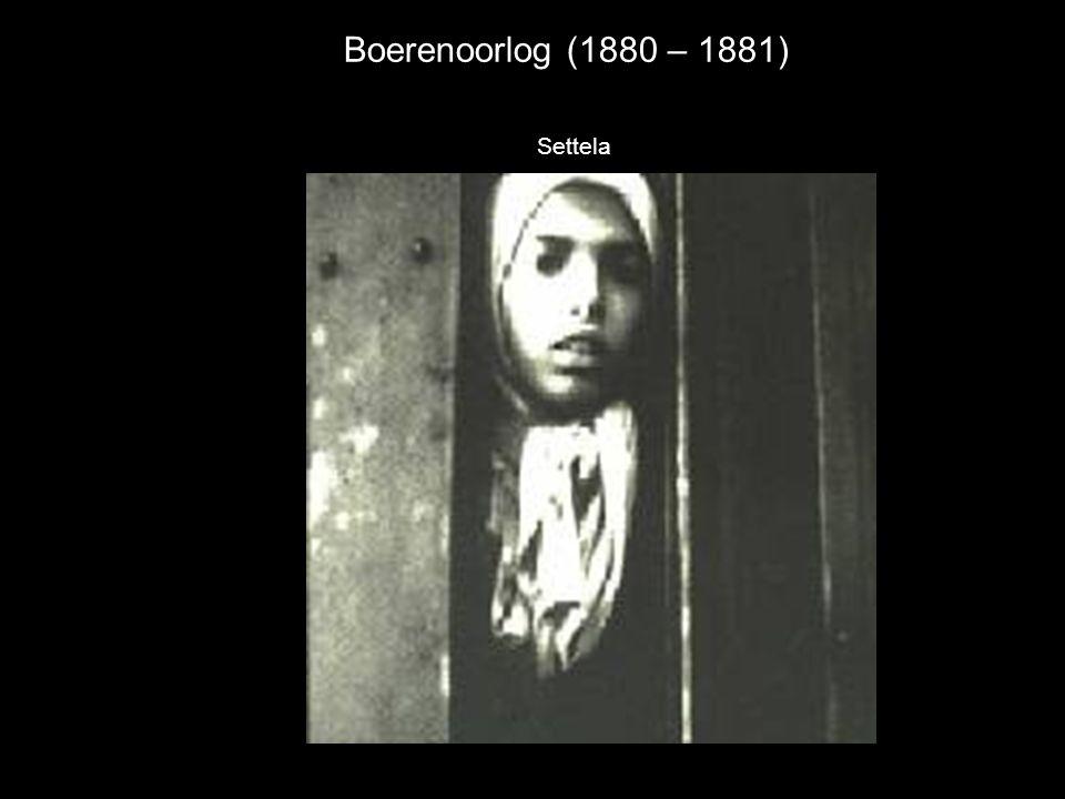 Boerenoorlog (1880 – 1881) Settela