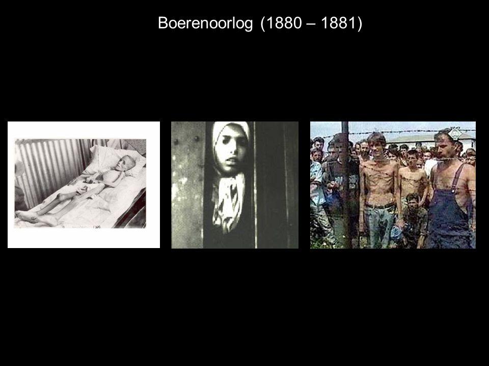 Boerenoorlog (1880 – 1881)