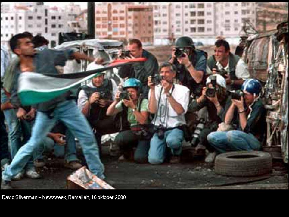 David Silverman – Newsweek, Ramallah, 16 oktober 2000