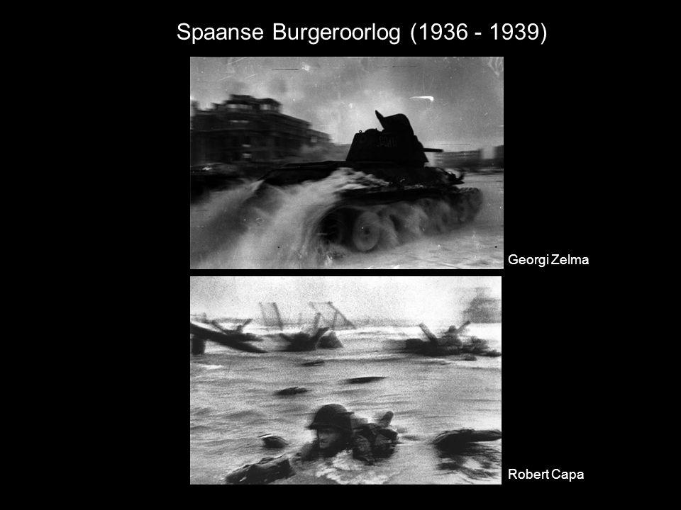 Spaanse Burgeroorlog (1936 - 1939) Georgi Zelma Robert Capa
