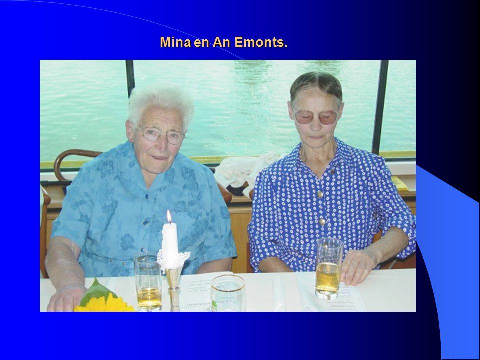 Karin Bruinen en haar moeder Fien Bruinen-Beurskens.