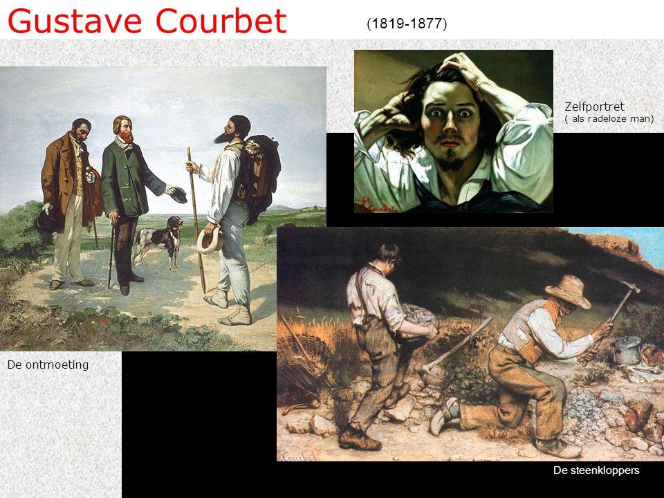 Gustave Courbet (1819-1877) De steenkloppers De ontmoeting Zelfportret ( als radeloze man)
