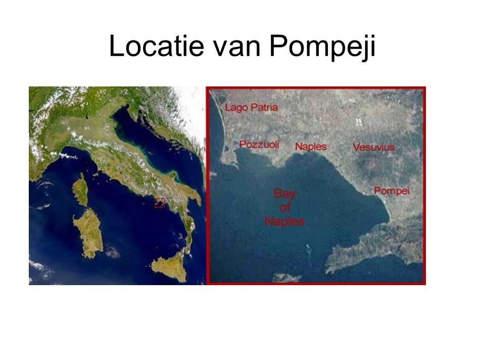 Locatie van Pompeji