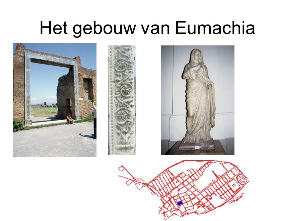 Het gebouw van Eumachia