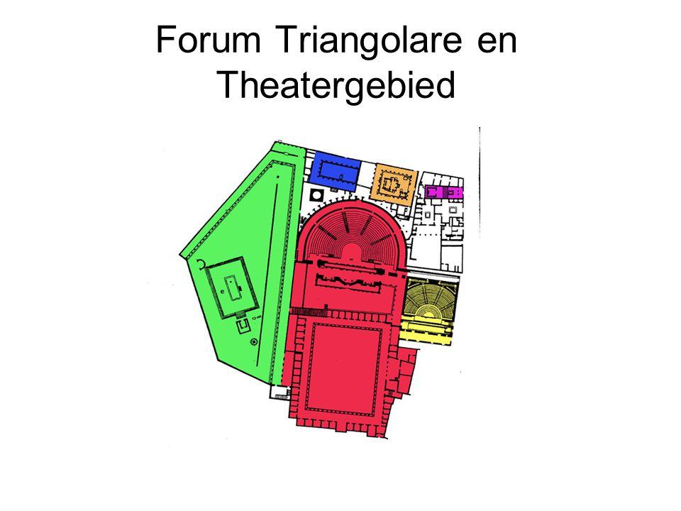Forum Triangolare en Theatergebied