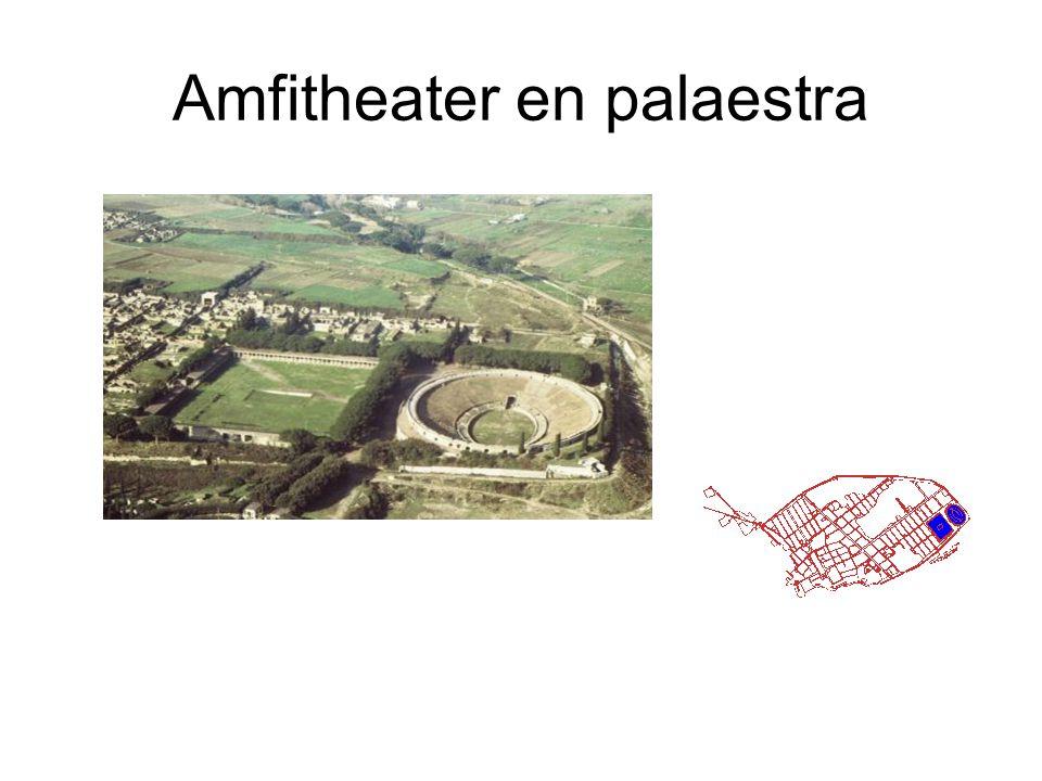 Amfitheater en palaestra