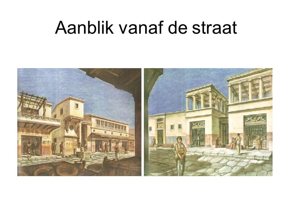 Aanblik vanaf de straat