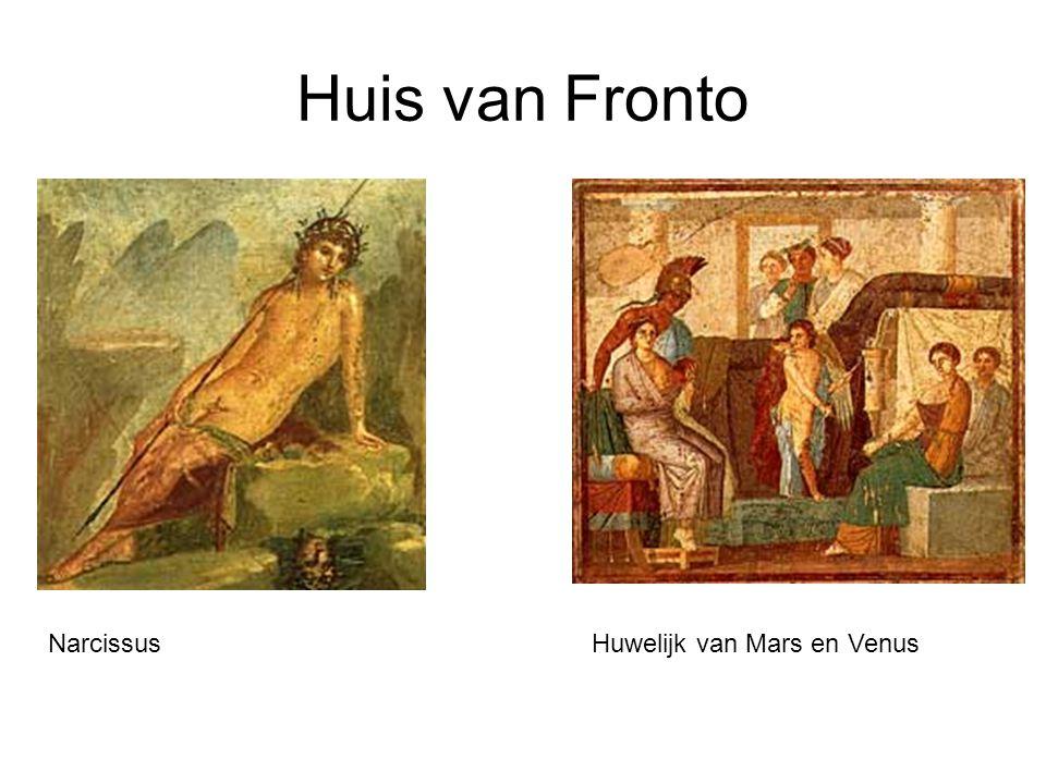 Huis van Fronto NarcissusHuwelijk van Mars en Venus