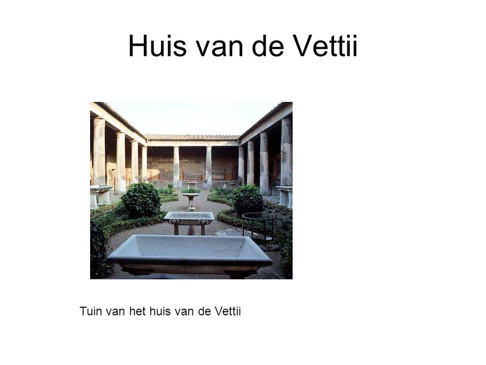 Tuin van het huis van de Vettii
