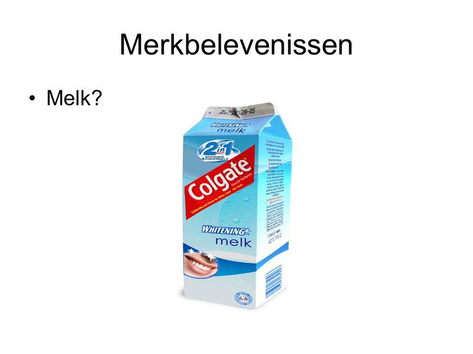 Merkbelevenissen •Melk?