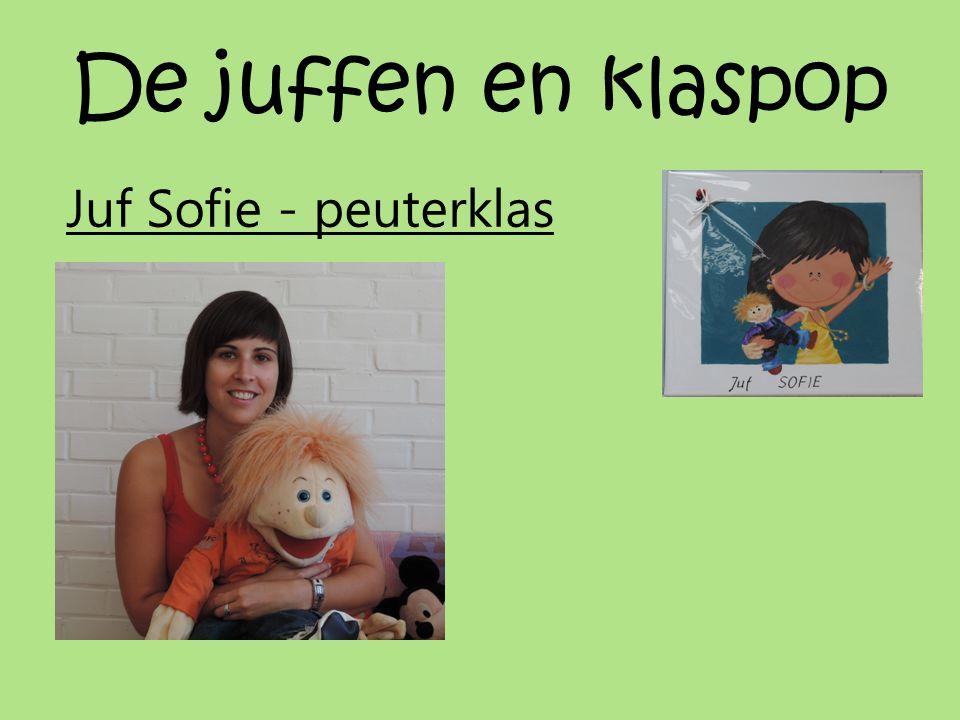 De juffen en klaspop Juf Sofie - peuterklas