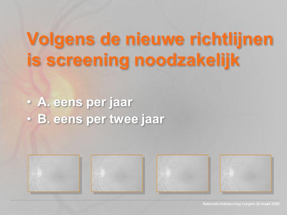 Financieel aspect •Kosten fundusfotografie +/- 30 euro •Kosten consult nieuwe patient > 200 euro