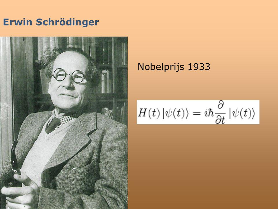 Erwin Schrödinger Nobelprijs 1933