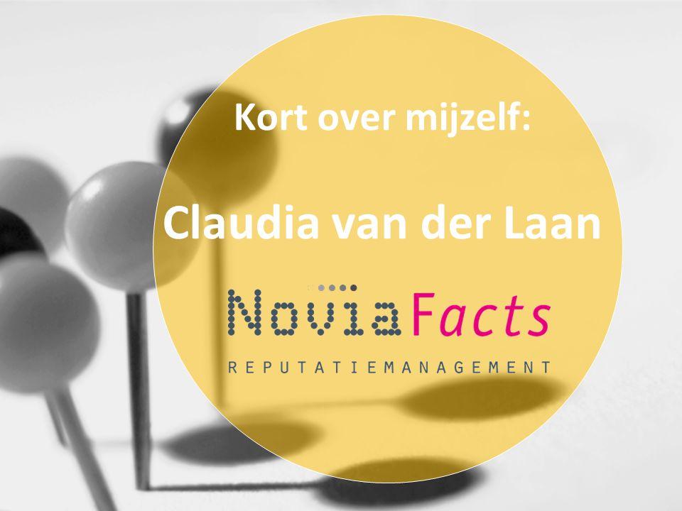 Kort over mijzelf: Claudia van der Laan