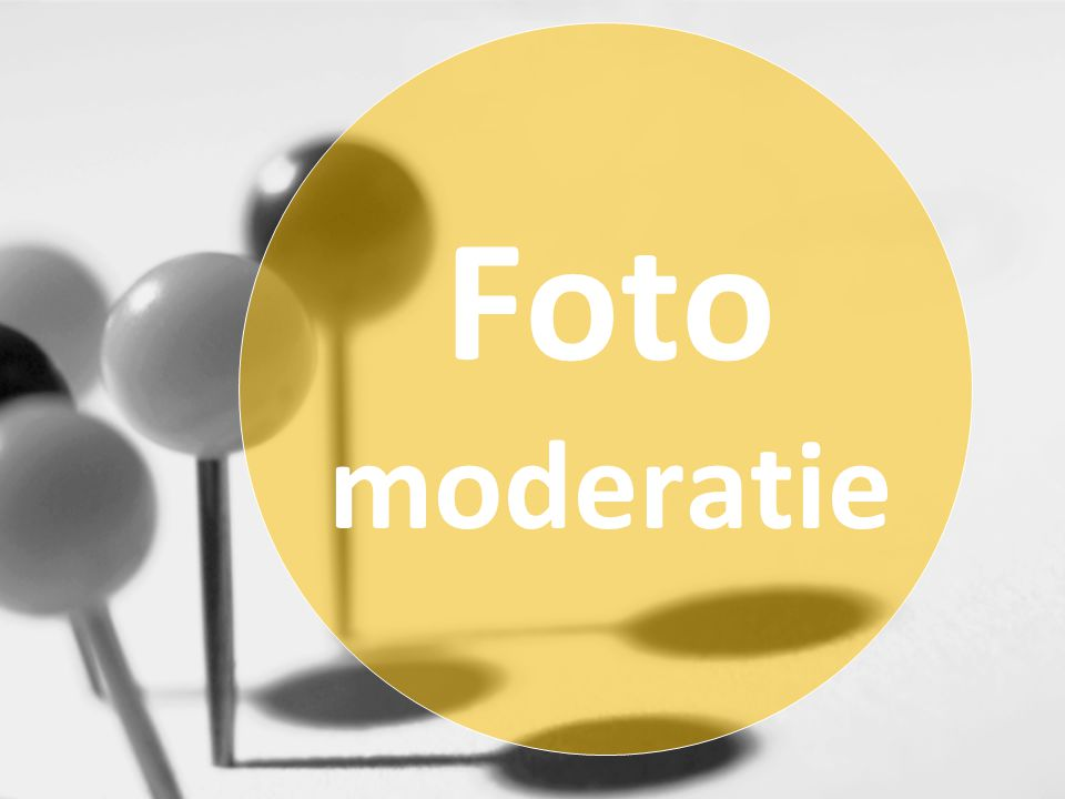 Foto moderatie