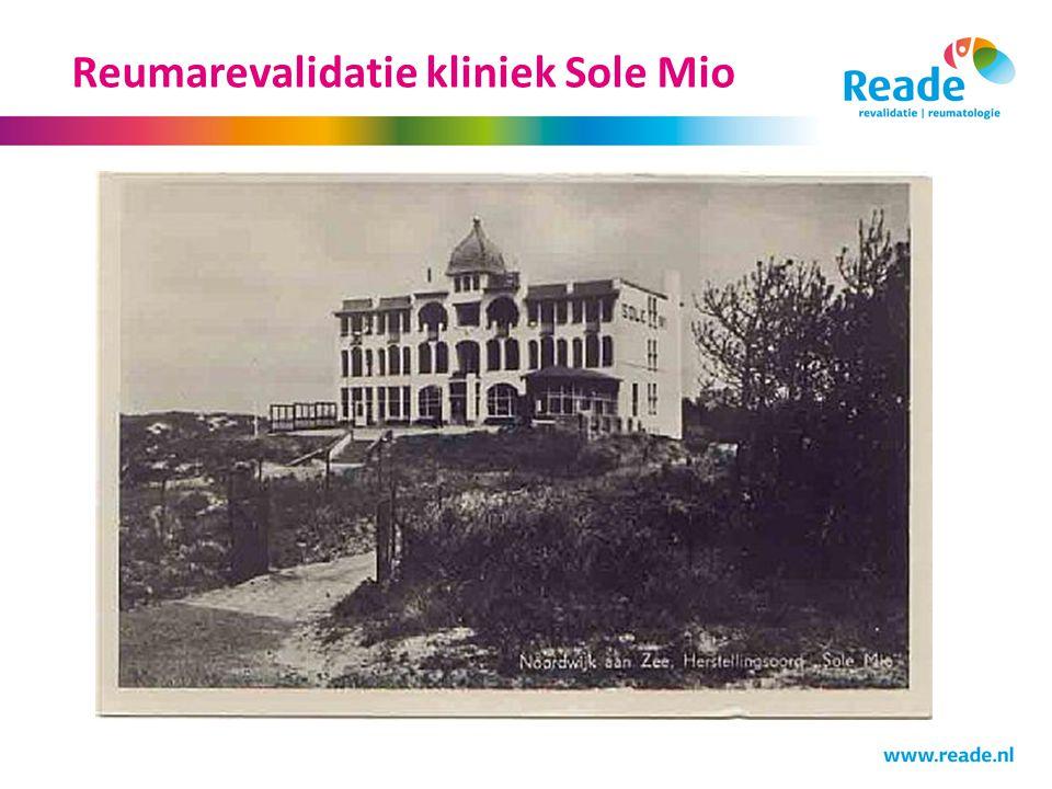 Reumarevalidatie kliniek Sole Mio