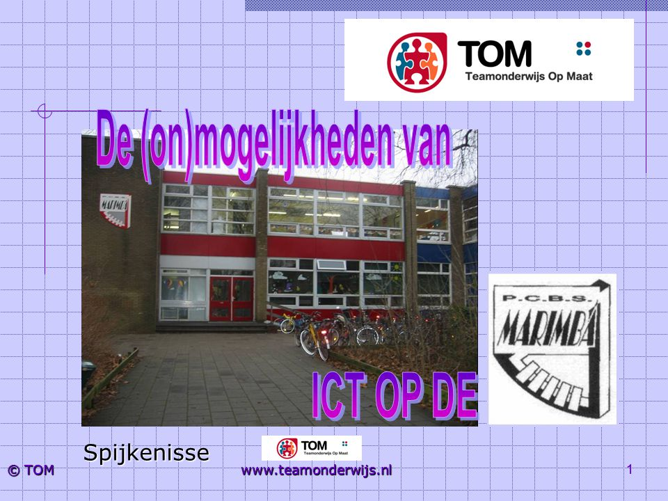 12 © TOM www.teamonderwijs.nl De ICT- coördinator Per school wordt een ICT coördinator benoemd Het ICT coördinatoren netwerk wordt gestart Kenmerken ICT-er (na 6 bijeenkomsten)  Teamspeler; inhoudelijk begeleider, helikopterview  Spil van veranderingsproces  Werkend aan visie en concept  Werkend aan schoolorganisatie  Werkend aan microniveau in de klas  Werkend aan subsidieproject….