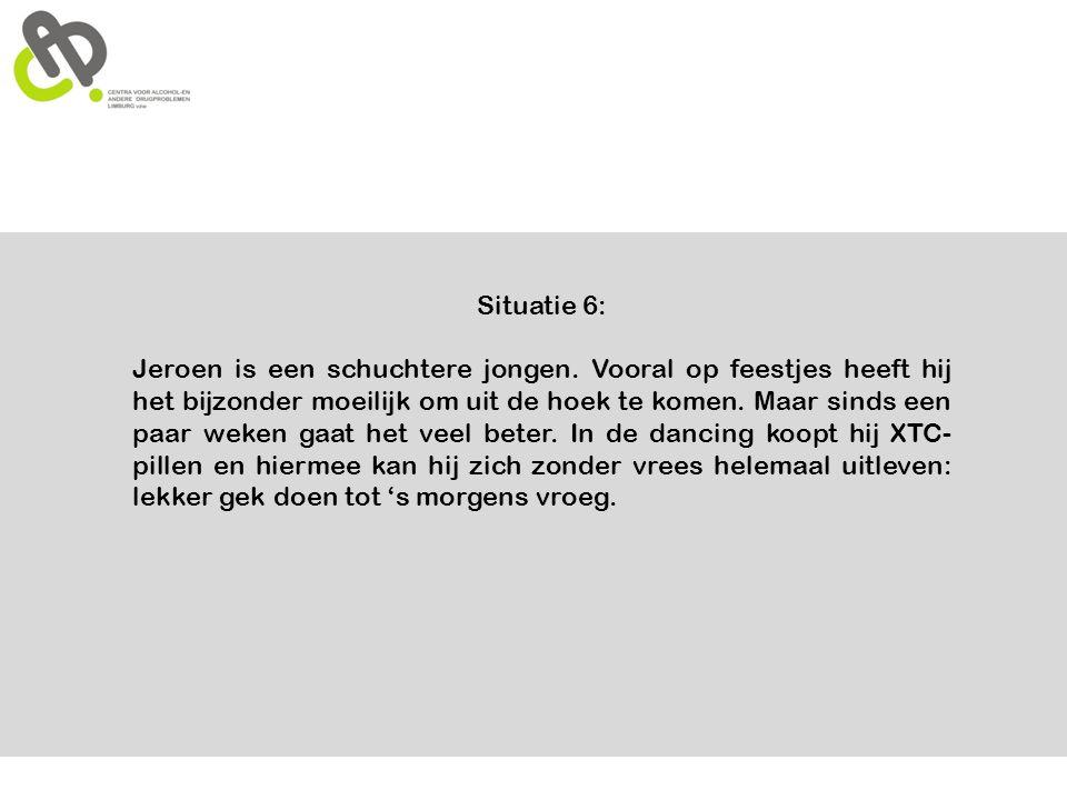 Nuttige adressen www.hoeveelisteveel.be www.cadlimburg.be www.drugsinbeweging.be CAD Limburg: 011 27 42 98 david.fraters@cadlimburg.be stefanie.jansen@cadlimburg.be 089/ 32 97 75 Bron: juridische handvaten voor het jeugdwerk.