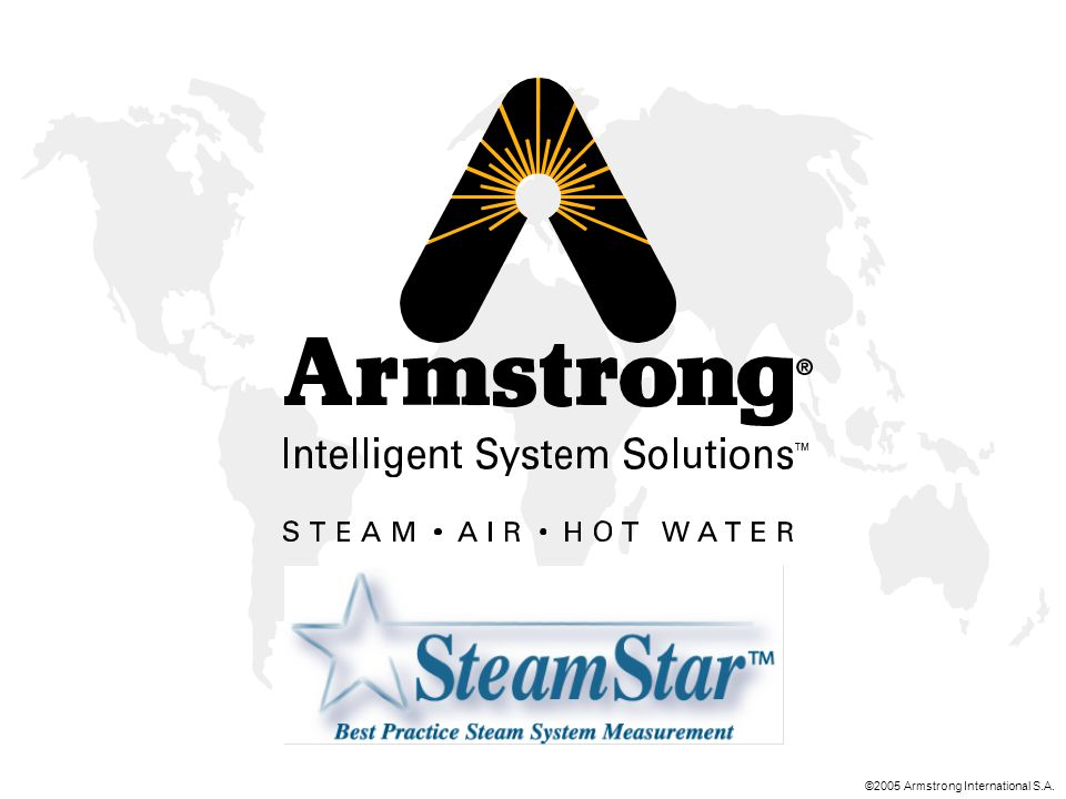 ©2005 Armstrong International S.A.