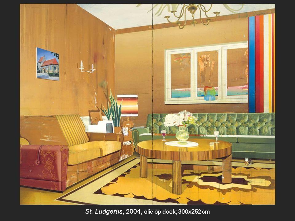 Hotel Seeblick, 2004, olie op doek; 190x280 cm 1972 Christoph Ruckhäberle