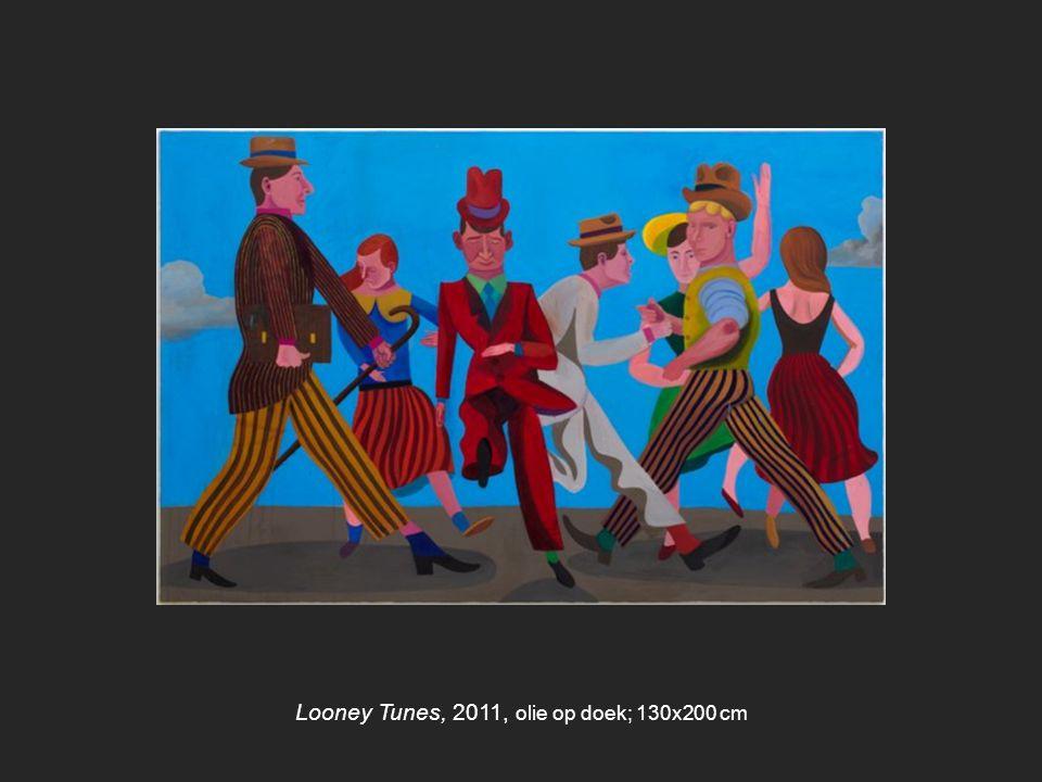 Looney Tunes, 2011, olie op doek; 130x200 cm