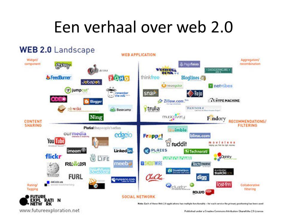 Een verhaal over web 2.0