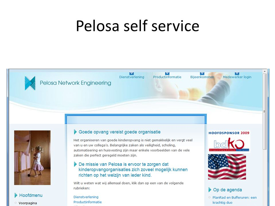 Pelosa self service