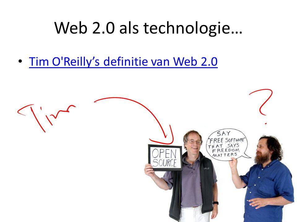 Web 2.0 mensen…