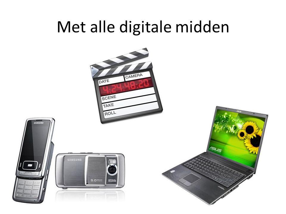Met alle digitale midden