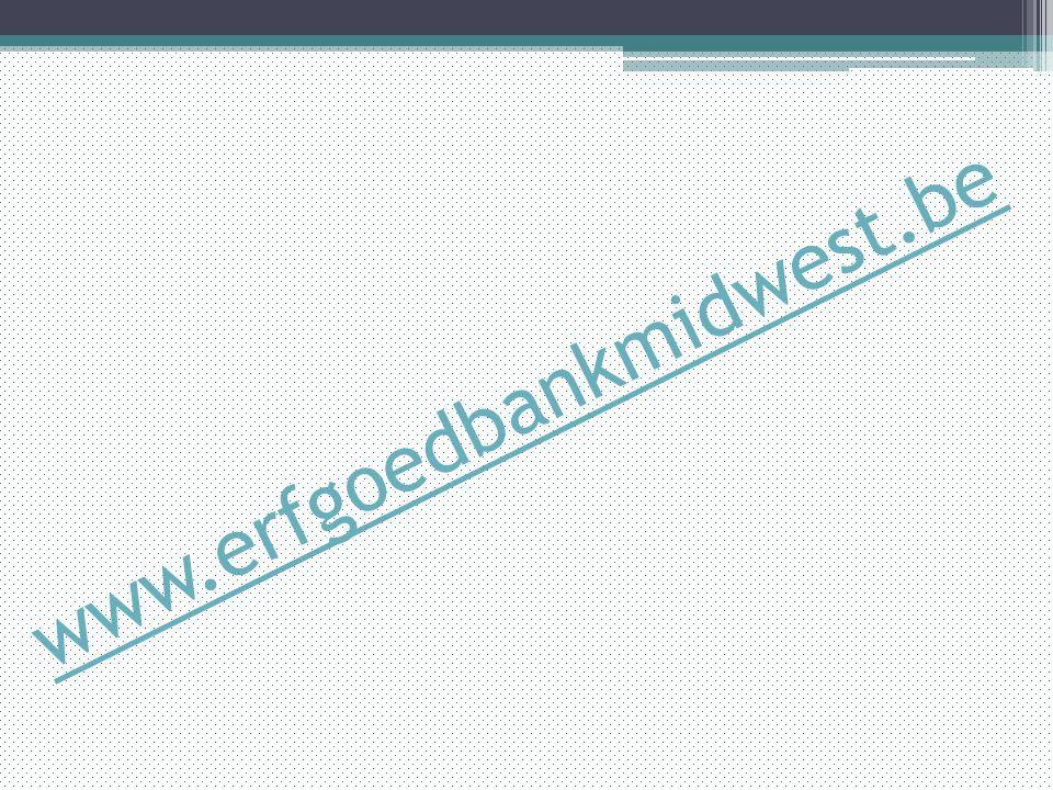 www.erfgoedbankmidwest.be