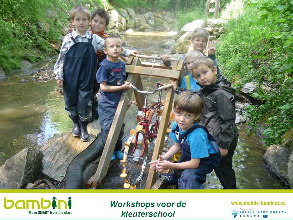 Workshops voor de kleuterschool