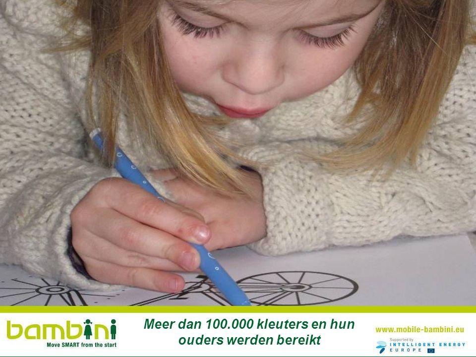 Meer dan 100.000 kleuters en hun ouders werden bereikt