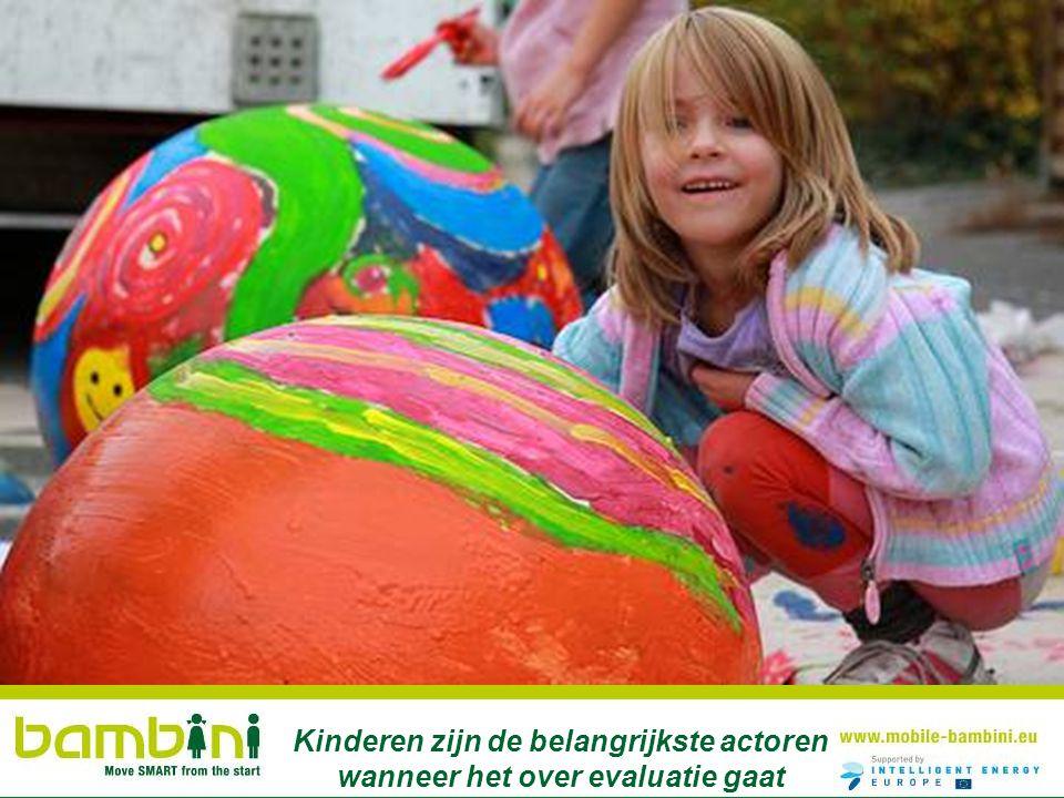Kinderen zijn de belangrijkste actoren wanneer het over evaluatie gaat