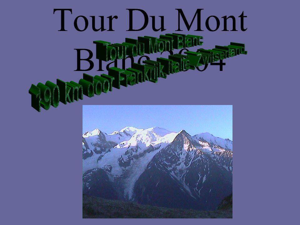 Tour Du Mont Blanc 2004