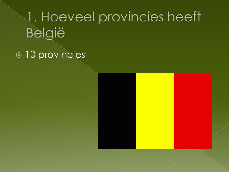  10 provincies