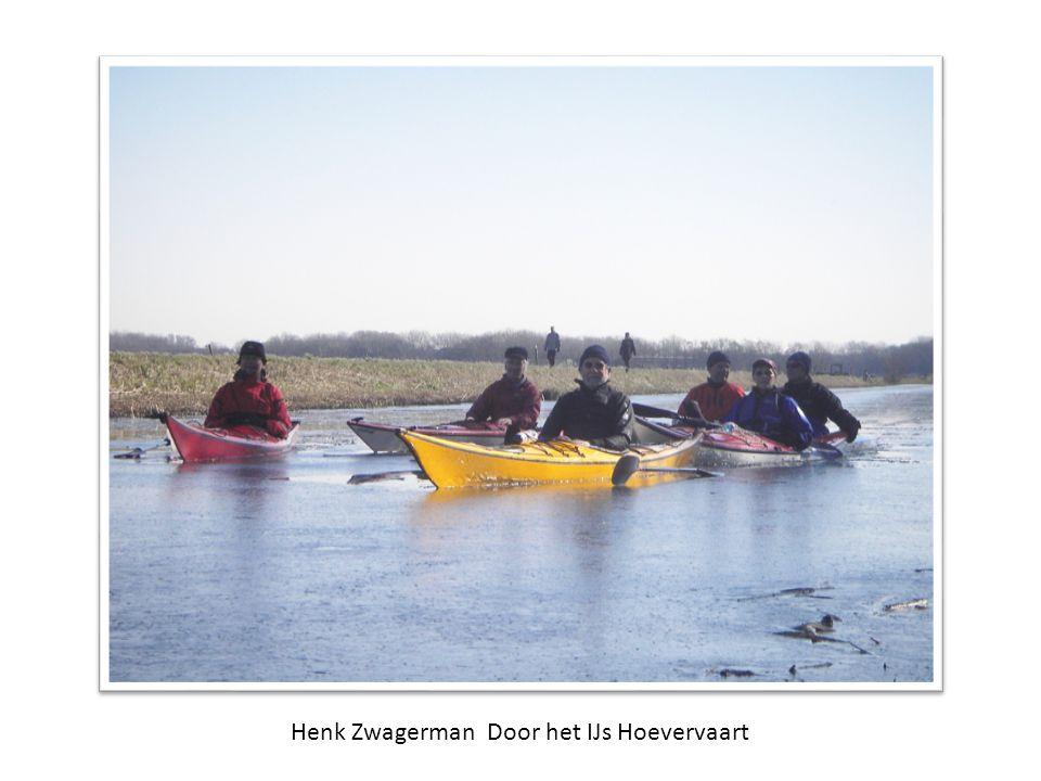 Henk Zwagerman Door het IJs Hoevervaart