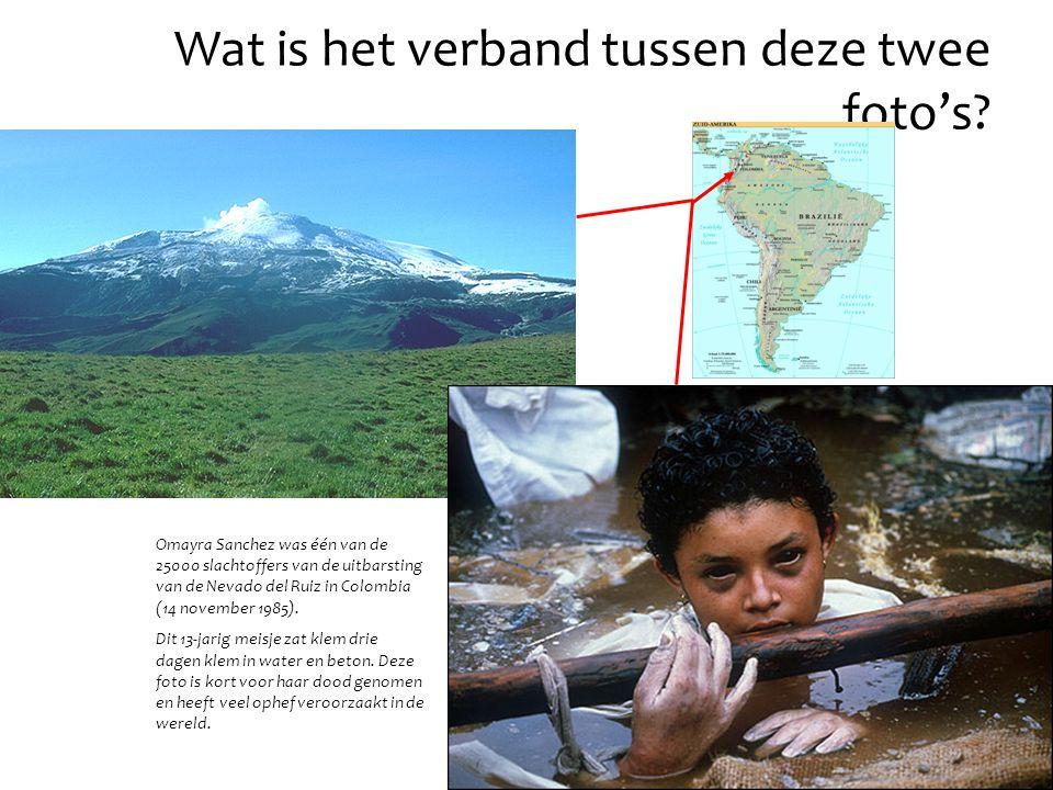 Omayra Sanchez was één van de 25000 slachtoffers van de uitbarsting van de Nevado del Ruiz in Colombia (14 november 1985).