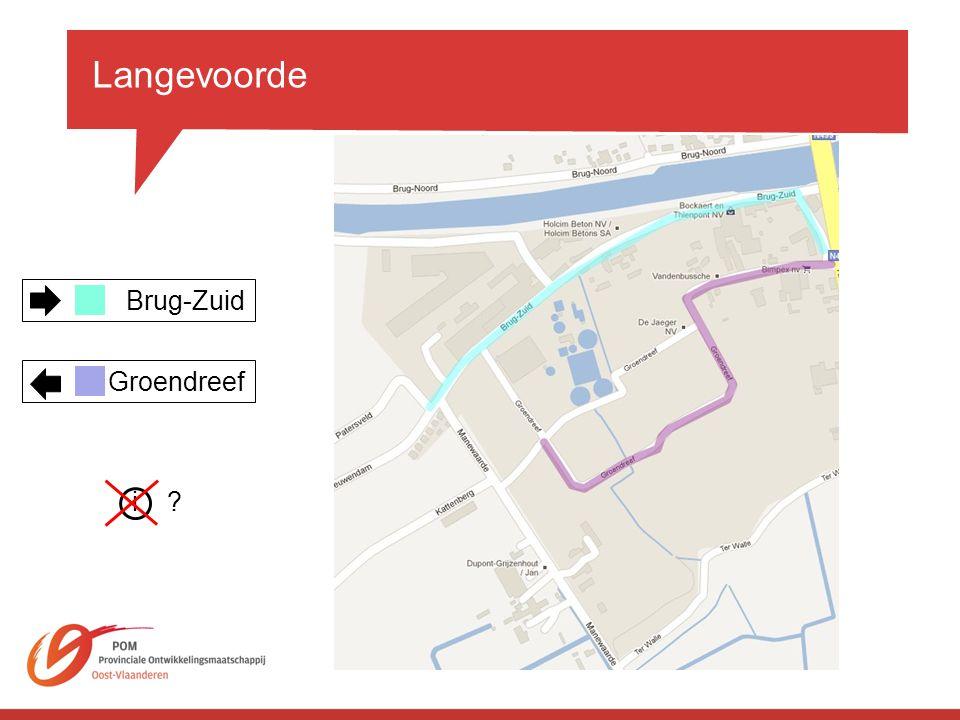 Langevoorde Brug-Zuid Groendreef i?