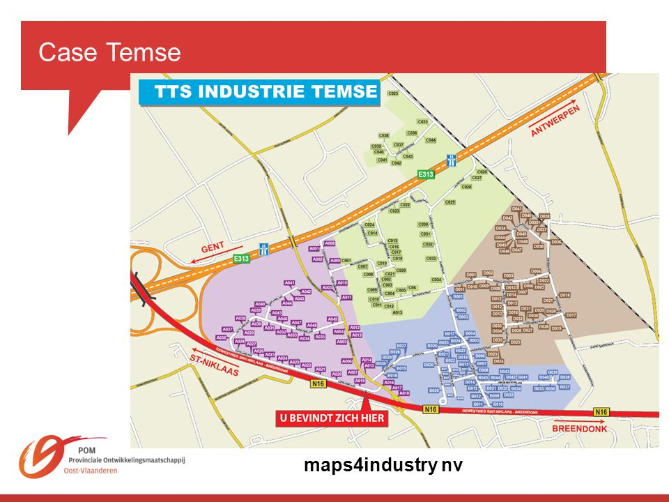 Case Temse maps4industry nv