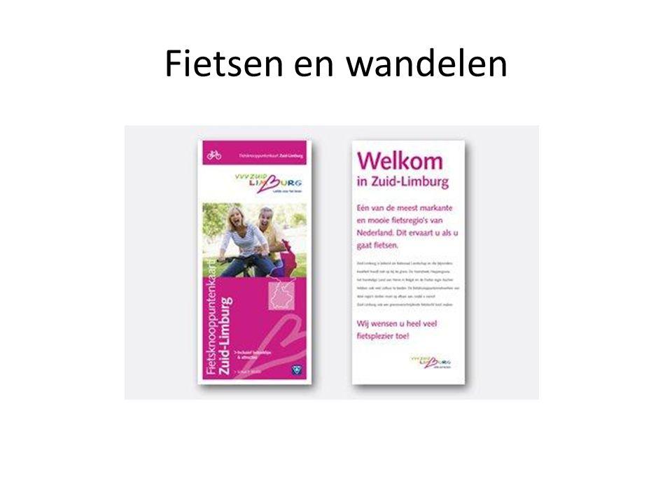 Activiteiten 2012- 2013 PR & Promotie -> Upgrading website en nieuw drukwerk -> PR rondom grote evenementen -> Deelname activiteiten VVV Zuid-Limburg -> Aansluiting bij 'Via Belgica' -> Deelname aan wandellint 'Bezin in Limburg'